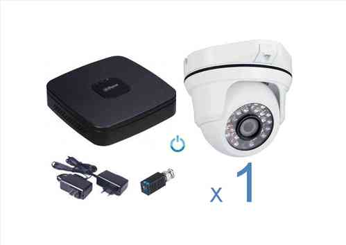 Kit CCTV Video vigilancia analógico 1 cámara